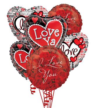 6 Love & Romance Balloons
