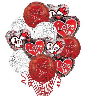 12 Love & Romance Balloons