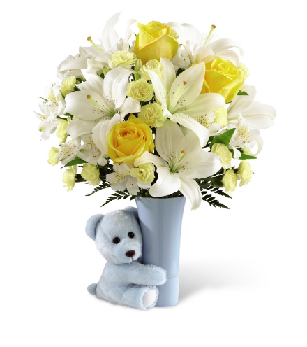 FTD® Baby Boy Big Hug® Bouquet - Greatest
