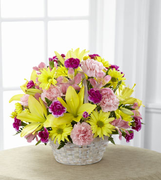 FTD® Basket of Cheer® Bouquet-Best