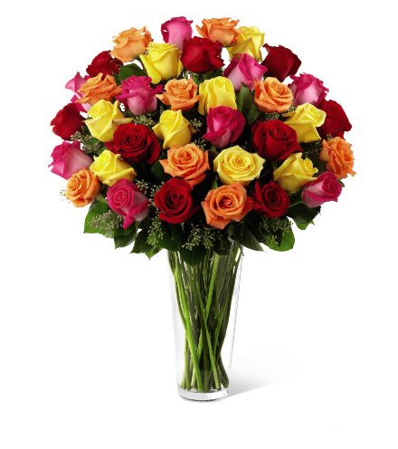 FTD® 36 Bright Spark™ Rose Bouquet