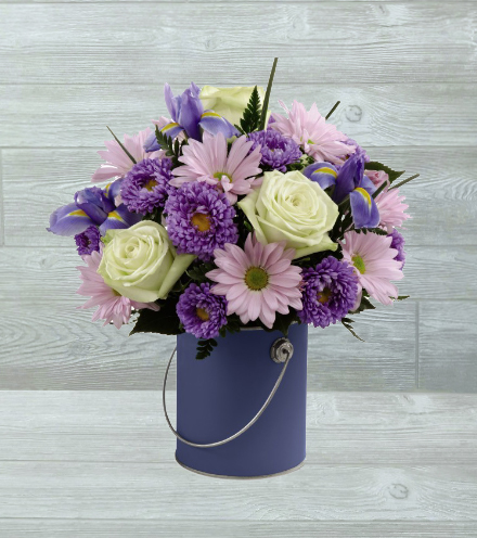 FTD® Color Your Day With Tranquility™ Bouquet