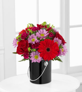 FTD® Color Your Night With Intrigue™ Bouquet