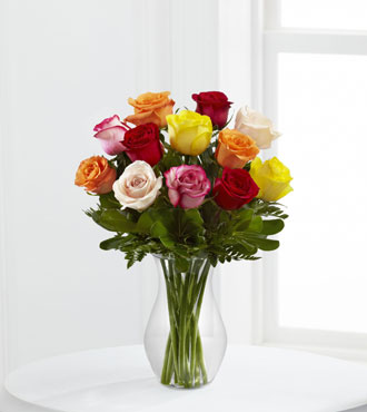 FTD® 12 Enchanting™ Rose Bouquet