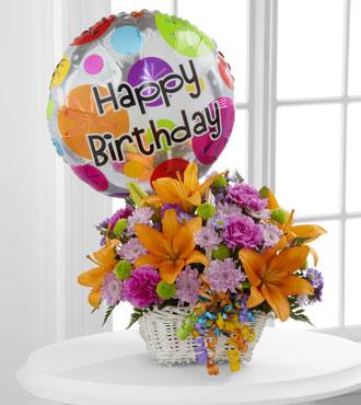 FTD® Happy Blooms™ Basket-Best