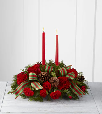 FTD® Holiday Classics™ Centerpiece by Better Homes and Gardens®