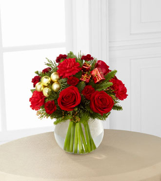 FTD® Holiday Gold™ Bouquet