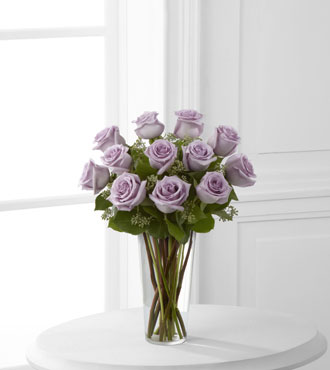 FTD® 12 Lavender Rose Bouquet