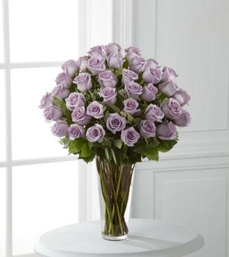FTD® 36 Lavender Rose Bouquet