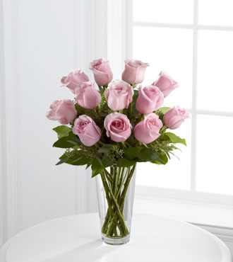 FTD® 12 Pink Rose Bouquet