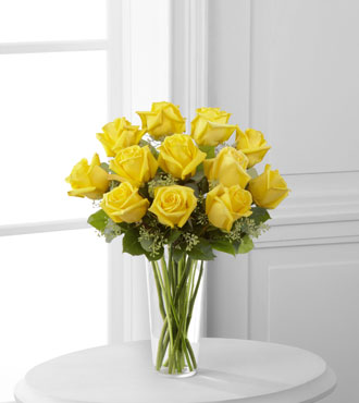 FTD® 12 Yellow Rose Bouquet