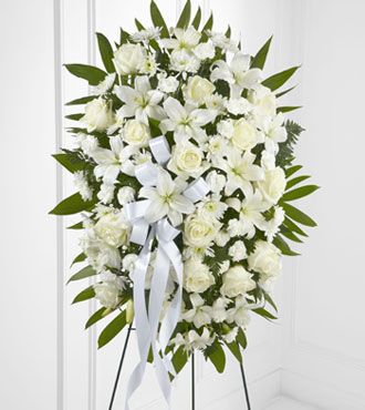 FTD® Exquisite Tribute™ Standing Spray-Better