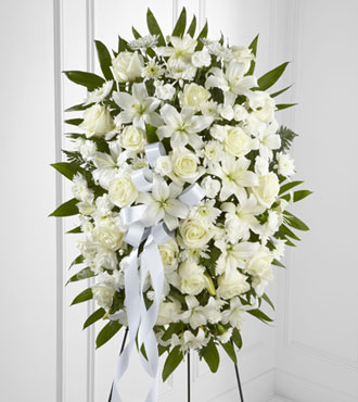 FTD® Exquisite Tribute™ Standing Spray-Best