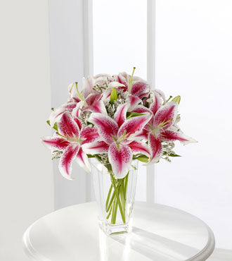 FTD® Pink Lily Bouquet - Greatest