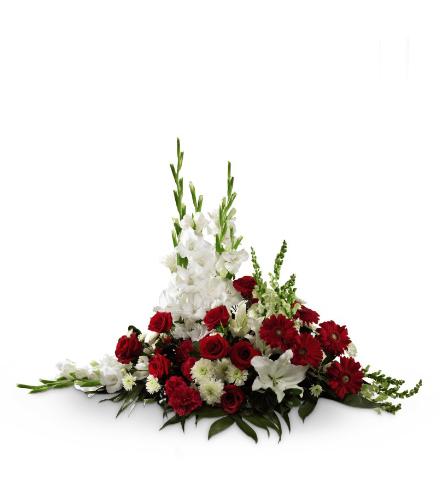 FTD® Crimson & White™ Arrangement
