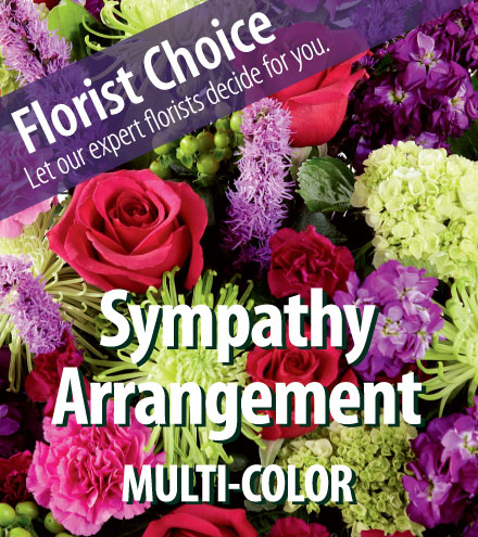 Florist Choice - Sympathy Multi-Color - Greater