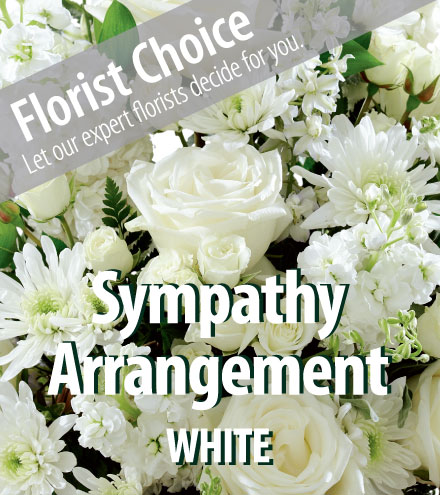 Florist Choice - Sympathy White-Greater