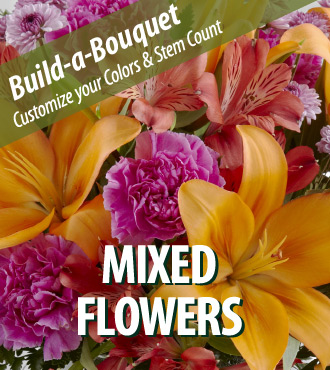 Build a Bouquet - Mixed Flowers