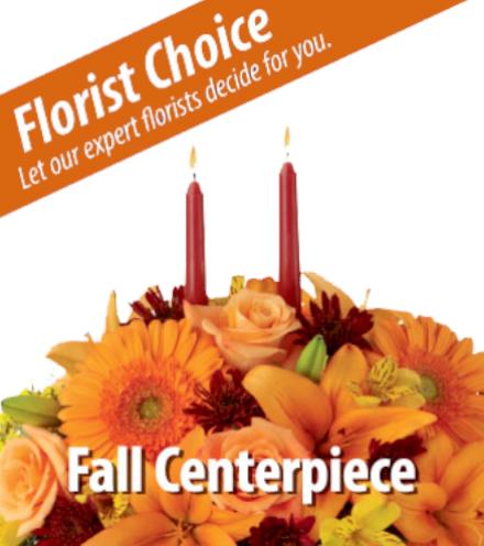 Florist Choice - Fall Centerpiece
