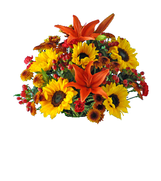 Autumn Glory Lantern Bouquet - Greater