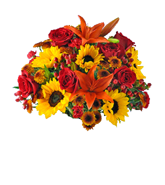 Autumn Glory Lantern Bouquet - Greatest
