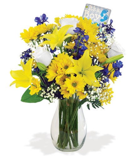 It's A Boy Bouquet Bouquet - Greater