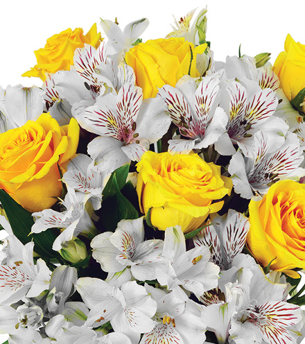 Cheerful Lemon Drops Bouquet - Great