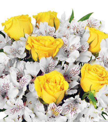Cheerful Lemon Drops Bouquet - Greater