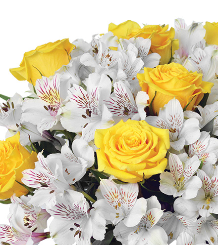 Cheerful Lemon Drops Bouquet - Greatest
