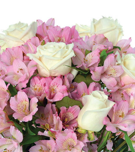Pink Pearls Bouquet - Greater