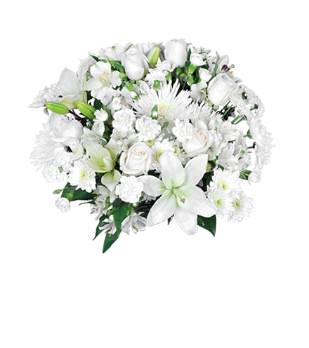 Classic White Bouquet - Greater