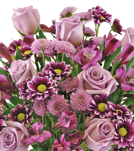 Purple Passion Bouquet - Greater
