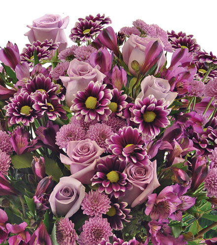 Purple Passion Bouquet - Greatest