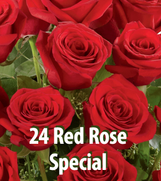 24 Red Rose Special
