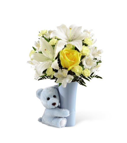 FTD® Baby Boy Big Hug® Bouquet From  $60