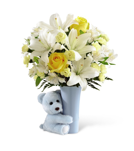 FTD® Baby Boy Big Hug® Bouquet - Greater