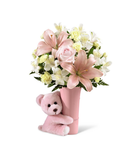 FTD® Baby Girl Big Hug® Bouquet