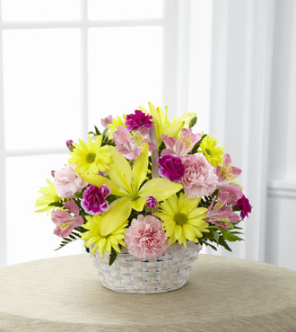 FTD® Basket of Cheer® Bouquet