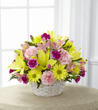 FTD® Basket of Cheer® Bouquet - Greater