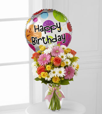FTD® Birthday Cheer™ Bouquet - Greater