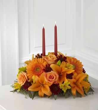 FTD® Bright Autumn™ Centerpiece - Greater