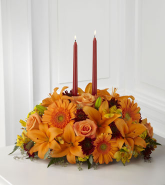 FTD® Bright Autumn™ Centerpiece - Greatest