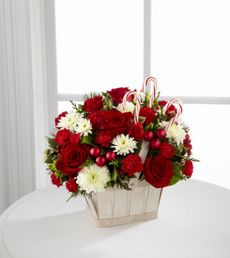FTD® Candy Cane Lane® Bouquet - Greater