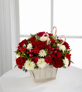 FTD® Candy Cane Lane® Bouquet - Greatest