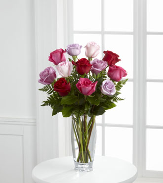 FTD® Captivating Color™ Rose Bouquet by Vera Wang