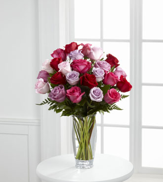 FTD® Captivating Color™ Rose Bouquet by Vera Wang - Greatest