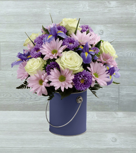 FTD® Color Your Day With Tranquility™ Bouquet - Greater
