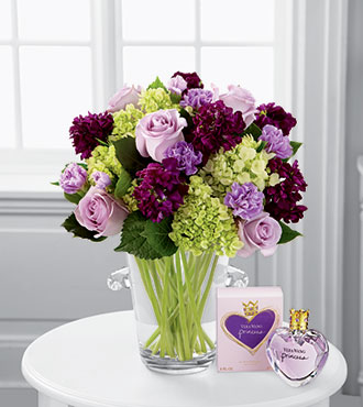 FTD® Eloquent™ Bouquet by Vera Wang with Fragrance