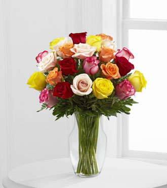FTD® 24 Enchanting™ Rose Bouquet