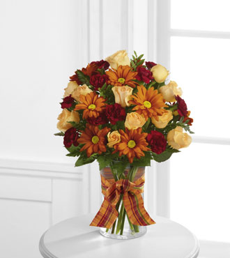FTD® Golden Autumn™ Bouquet